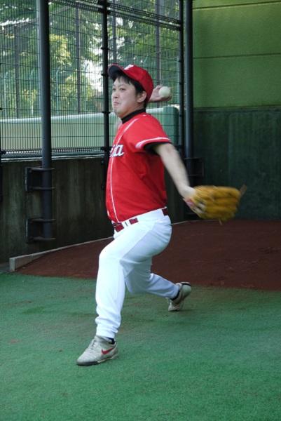1野球練習